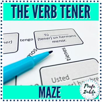 Tener (Present Tense) Maze