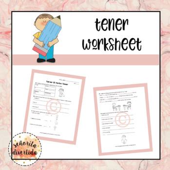 Tener Worksheet