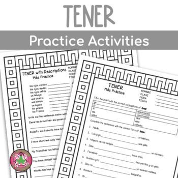 Tener and Tener Idioms Practice