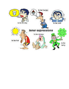 Tener expressions: Skit, assessment and activities