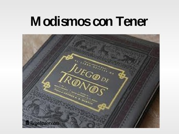 Tener modismos-Game of Thrones