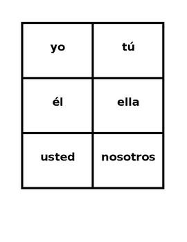 Tener y Utiles escolares (School objects in Spanish) Game