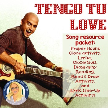 Tengo Tu Love Song Packet