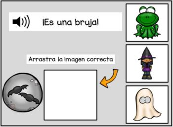 Tengo miedo ~ Spanish Halloween Reader & Prediction graph {en español}