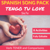 Tengo tu Love: Song Activities to Practice the Verb TENER