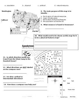 Tennesse Social Studies Cumulative Worksheet