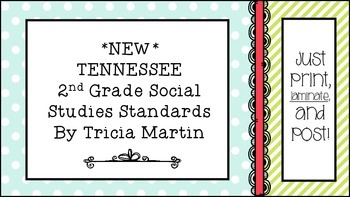 Tennessee 2nd Grade Social Studies Standards