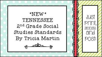 Tennessee 2nd Grade Social Studies Standards