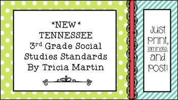 Tennessee 3rd Grade Social Studies Standards