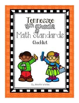 Tennessee 5th Grade Math Standards Checklist
