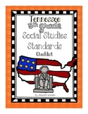Tennessee 5th Grade Social Studies Standards Checklist