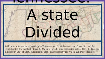 Tennessee: A state Divided