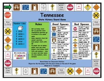 Tennessee Board Game