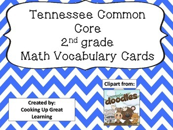 Tennessee Common Core Math Vocabulary Cards