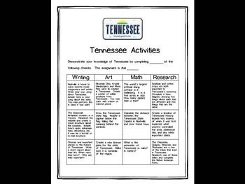Tennessee Differentiated State Activities