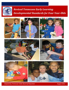 Tennessee Early Learning Development Standards for Four-Year Olds