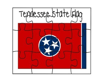 Tennessee Flag Puzzle