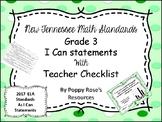 Tennessee Grade 3 Math I Can Statements (2017) Candyland