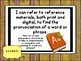 Tennessee Grade 6 & 7 ELA I Can Posters ( 11x14)