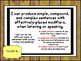 Tennessee Grade 7 ELA I Can Statements Posters