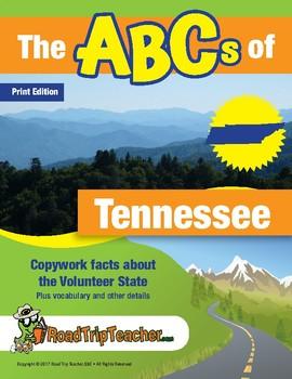 Tennessee Handwriting Printables - Print Edition
