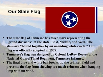 Tennessee History PowerPoint - Part I