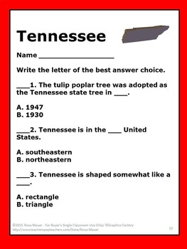 Tennessee Hello USA