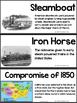Tennessee History Vocabulary Cards Unit #9: The Jackson Era