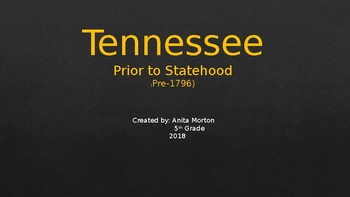 Tennessee History aligned with new Tennessee Standards