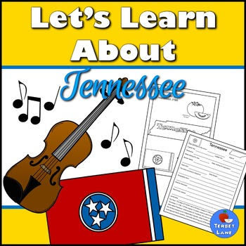 Tennessee History and Symbols Unit Study