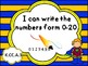 Tennessee Kindergarten Math I Can Statements - New Standards 2017