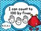 Tennessee Kindergarten Math I Can Statements - Monster Theme