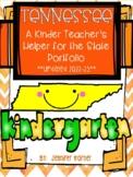 Tennessee Kindergarten Portfolio Helper-Updated for the 19