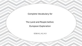 Tennessee Land and People before European Exploration comp