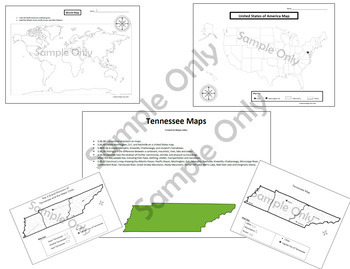Tennessee Maps