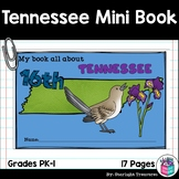 Tennessee Mini Book for Early Readers - A State Study
