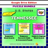 Tennessee Puzzle BUNDLE - Word Search & Crossword - U.S. States - Google