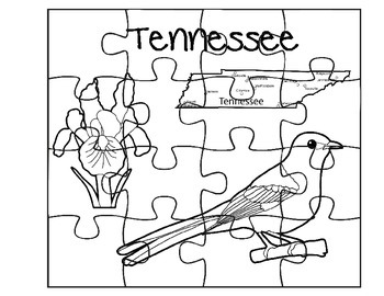 Tennessee Puzzle Set