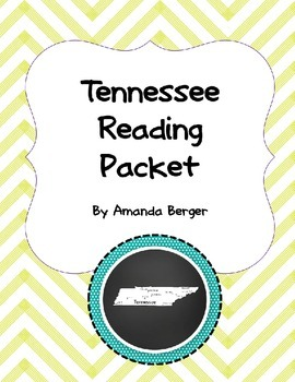 Tennessee Reading Packet
