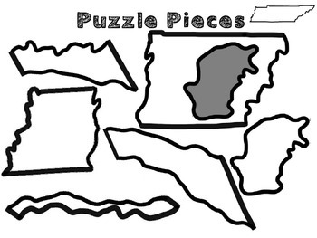 Tennessee Regions cut and paste activity