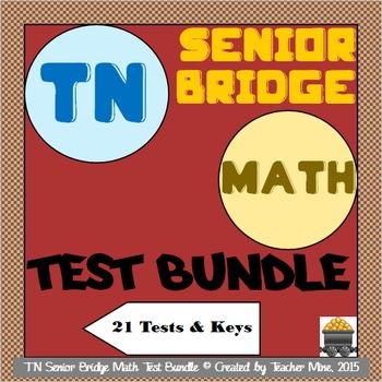 Tennessee Senior Bridge Math Test Bundle