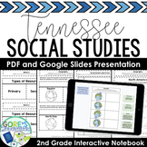 Tennessee Social Studies 2nd Grade Interactive Notebook Pr