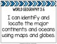 Tennessee Social Studies 3rd Grade I Can Statements *NEW Standards*