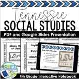 Tennessee Social Studies 4th Interactive Notebook - Current and NEW Standards