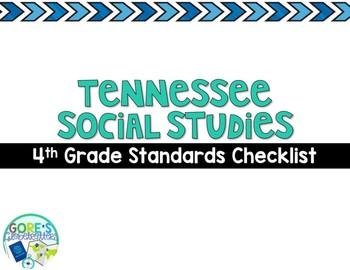 Tennessee Social Studies 4th Grade Standards Checklist