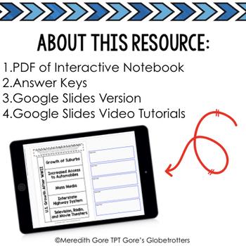 #teachersremember Tennessee Social Studies 5th Grade Interactive Notebook