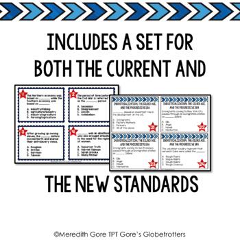 Tennessee Social Studies 5th Grade Task Cards Set 1