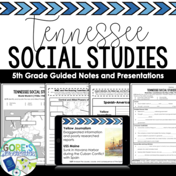 Tennessee Social Studies 5th Grade Worksheets