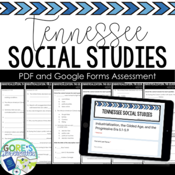 Tennessee Social Studies Test 5th Grade 5.1-5.3