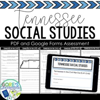 Tennessee Social Studies Test 5th Grade 5.61-5.74